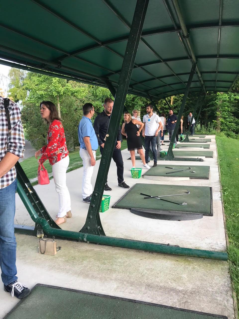 Initiation golf soirée d'été