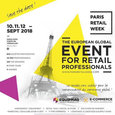 Paris Retail Week 2018 : rejoignez-nous sur le plus grand événement retail européen !
