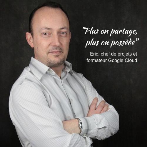 Eric Leleu collaborateur passionné Quadra Informatique création communauté Google+