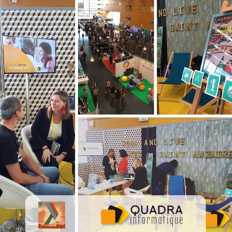 DevFest Nantes 2018 Quadra Informatique Développeurs