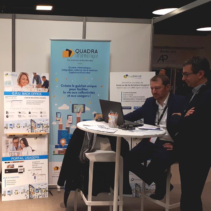 AP Connect 2019 : Quadra Informatique présente CapDémat Evolution avec la ville de Beauvais