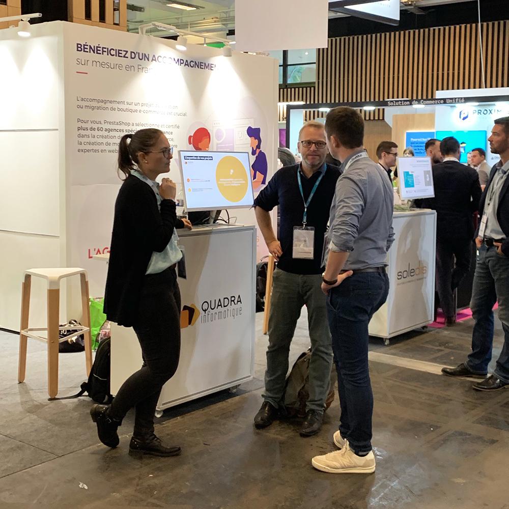 Paris Retail Week 2019 Quadra Informatique