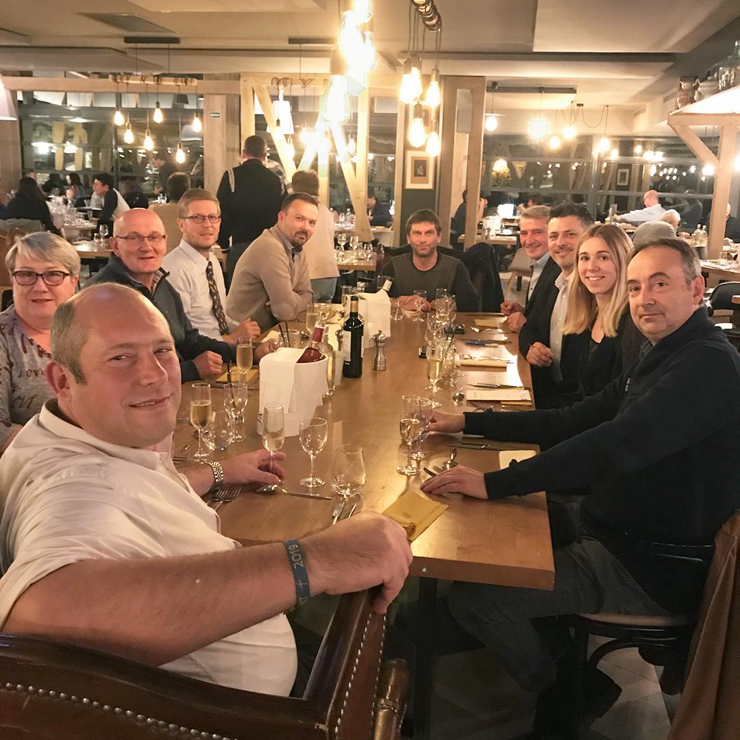 soirée agence rouen 24 octobre 2019 Casino Forges-les-Eaux Quadra Informatique