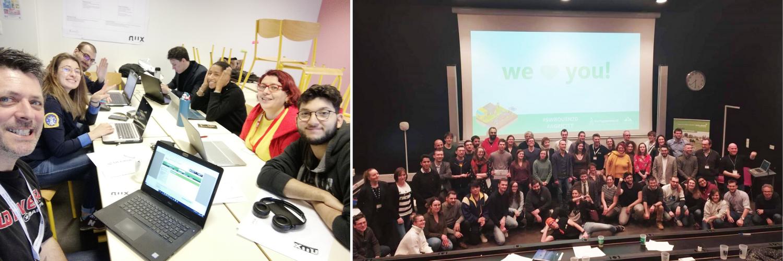 Quadra Informatique Startup Weekend Rouen 2020