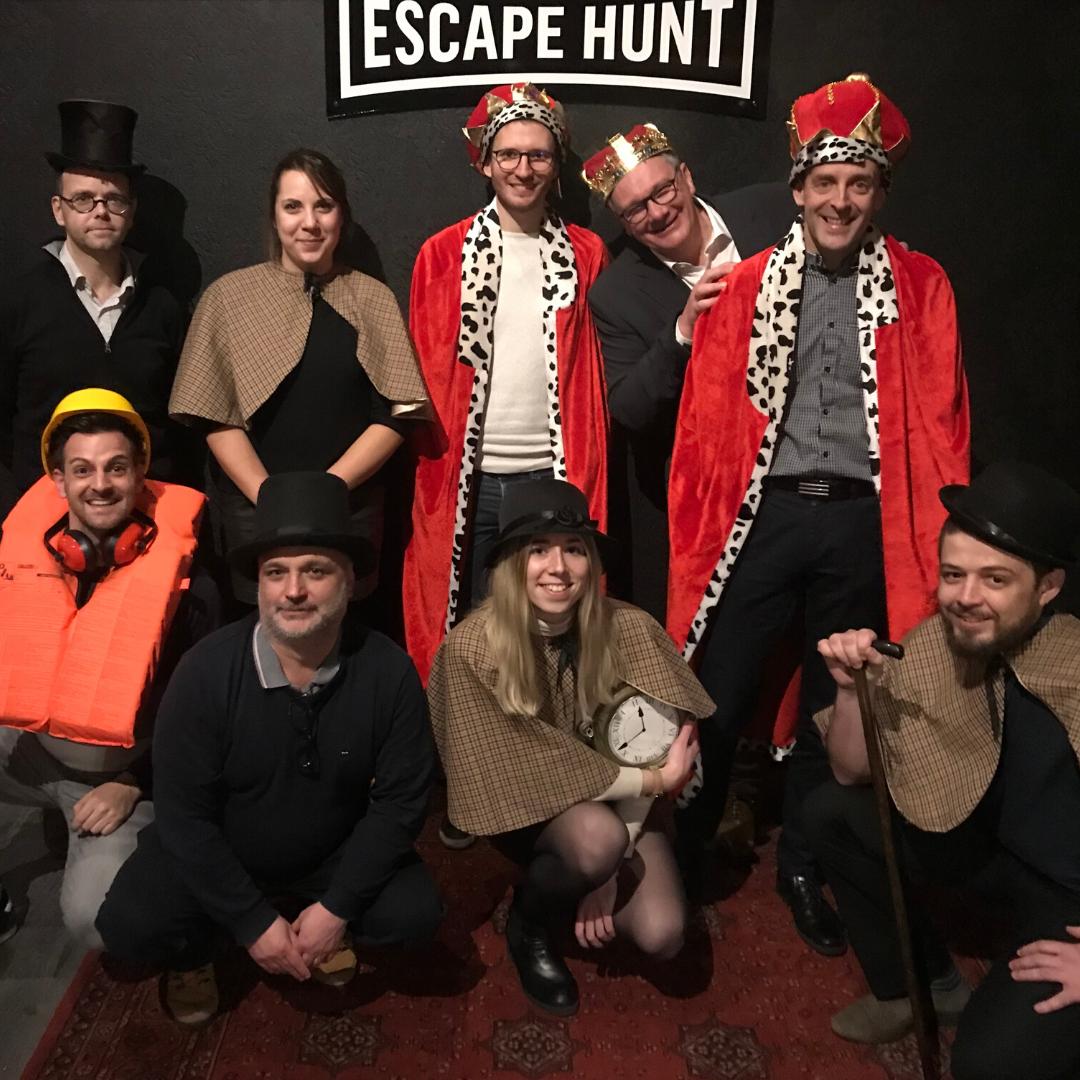 Soirée d'agence Nantes Escape Game